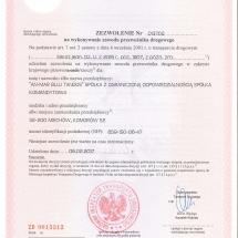 Licencja-Kraj